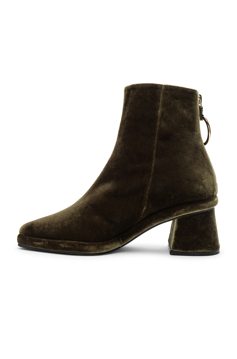 Image 5 of Reike Nen Ring Slim Boots in Green
