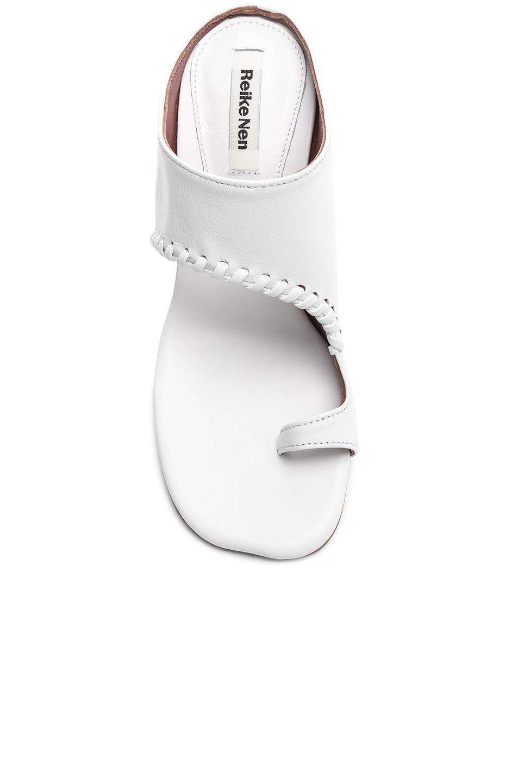 Image 4 of Reike Nen Asymmetry Turnover Heel in White