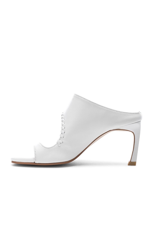 Image 5 of Reike Nen Asymmetry Turnover Heel in White
