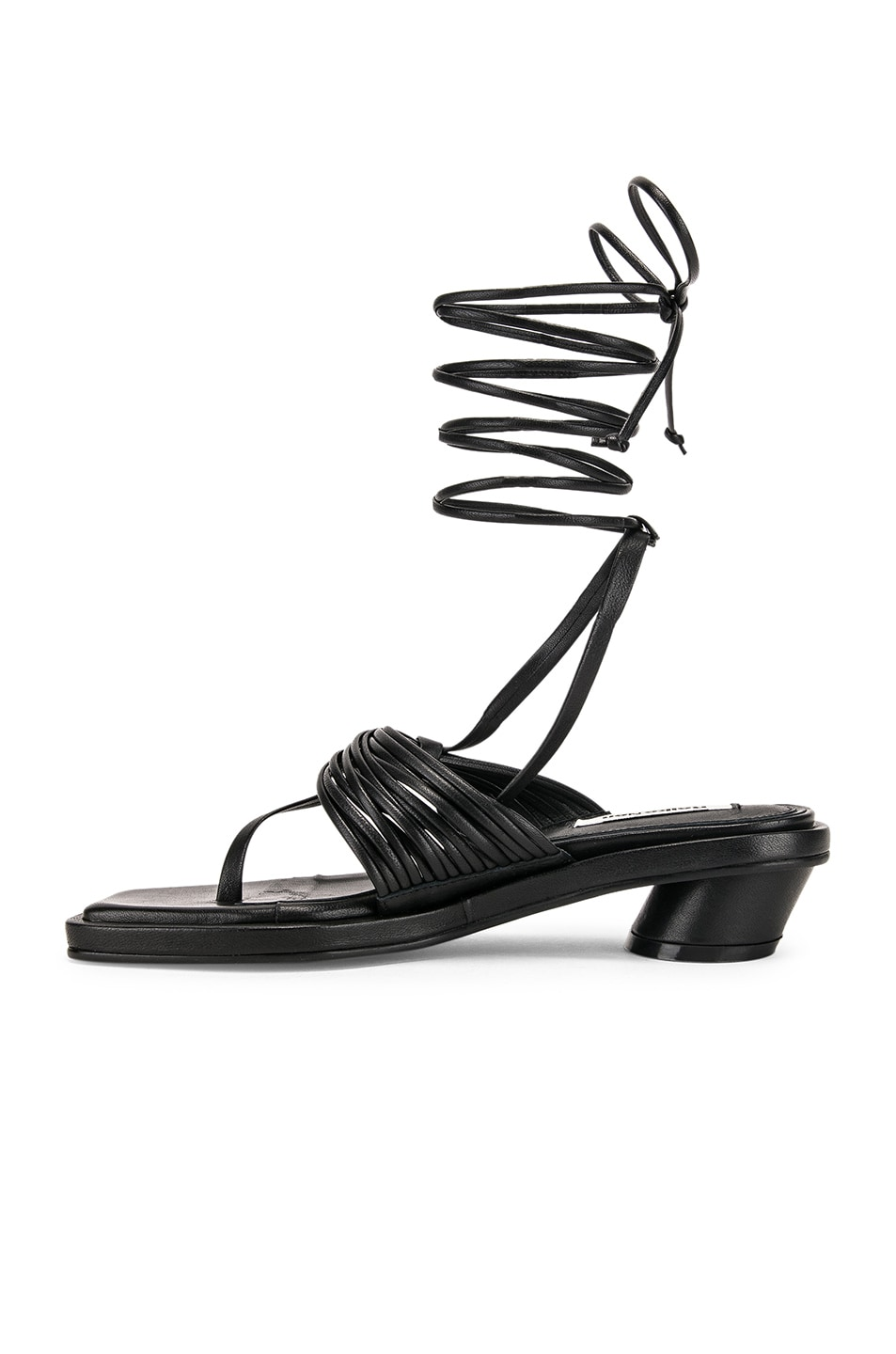 Image 5 of Reike Nen Unbalanced String Sandal in Black