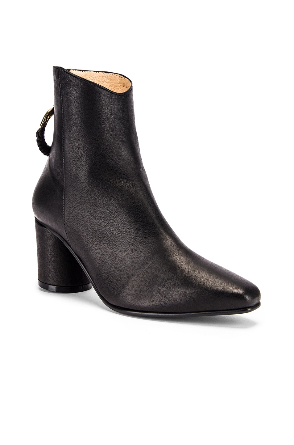 Image 2 of Reike Nen Oblique Turnover Ring Boots in Black