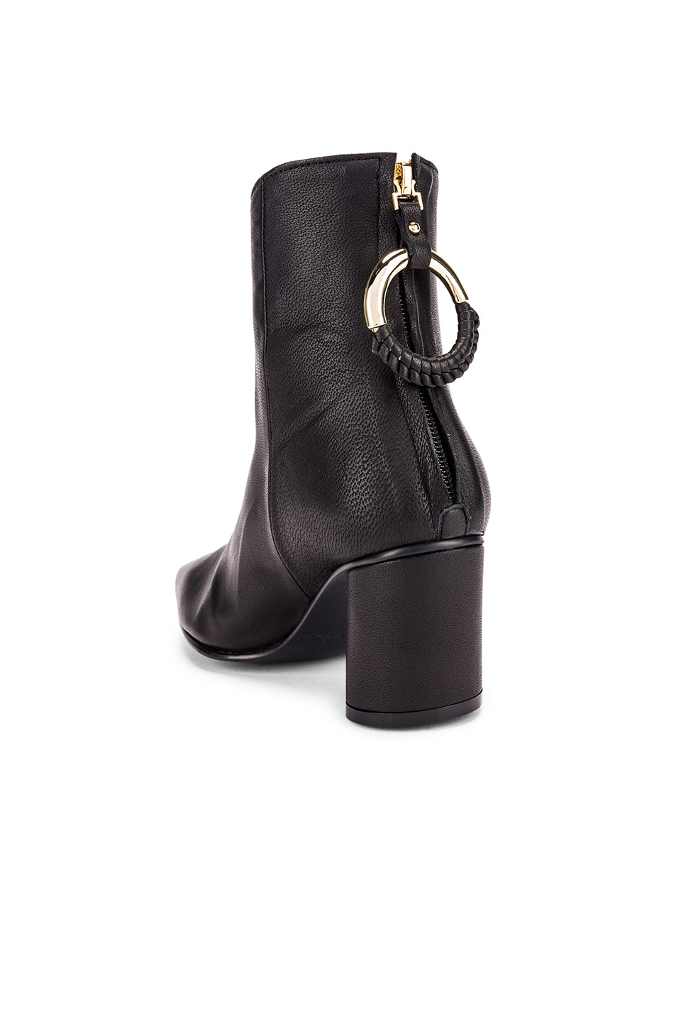 Image 3 of Reike Nen Oblique Turnover Ring Boots in Black