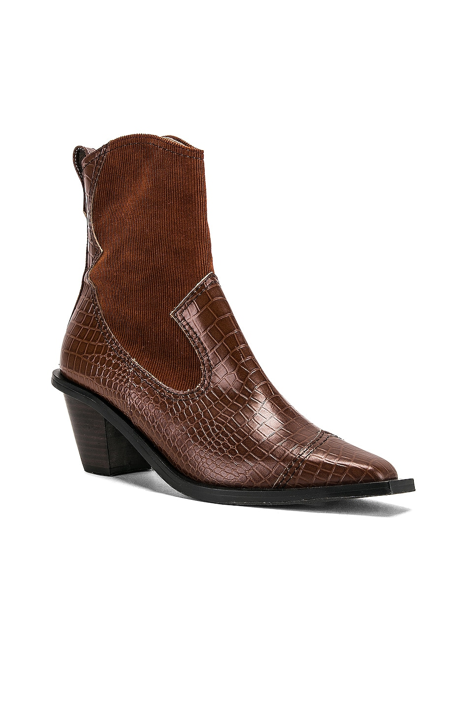 Image 2 of Reike Nen Western Wave Boots in Brown