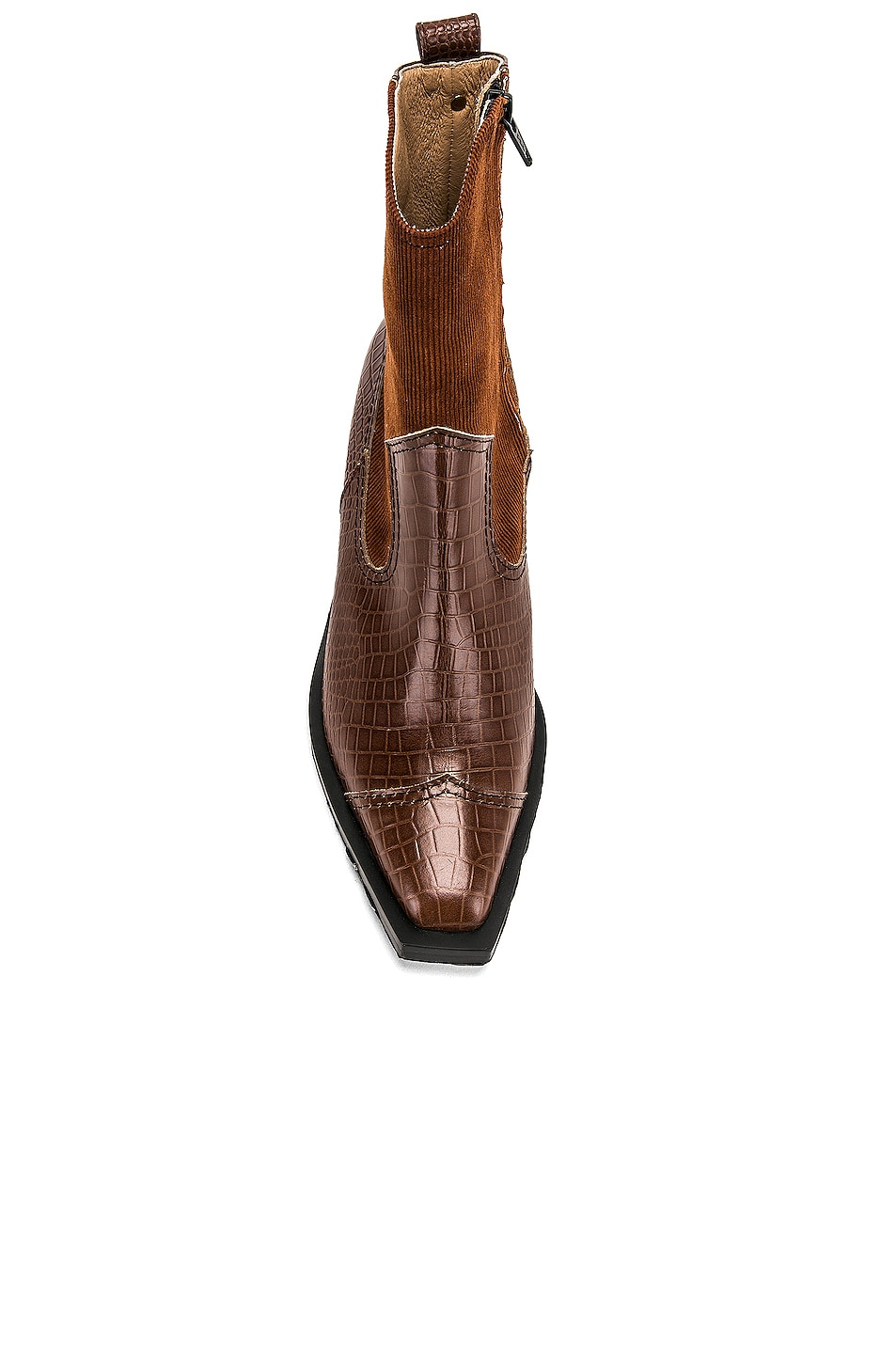 Image 4 of Reike Nen Western Wave Boots in Brown