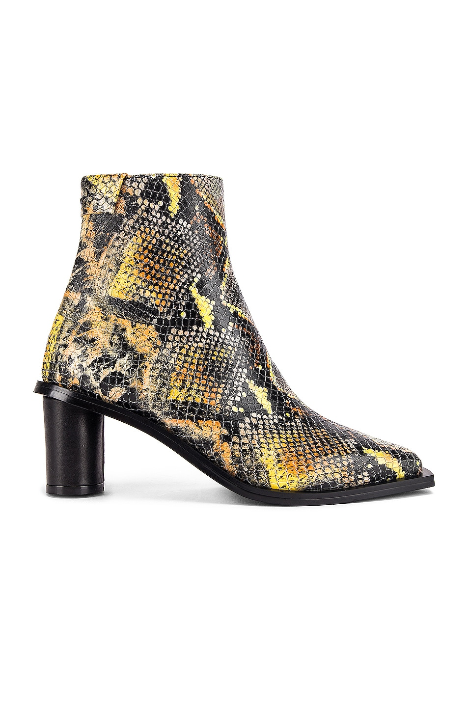 Image 1 of Reike Nen Oval Heel Ankle Boots in Orange Multicolor