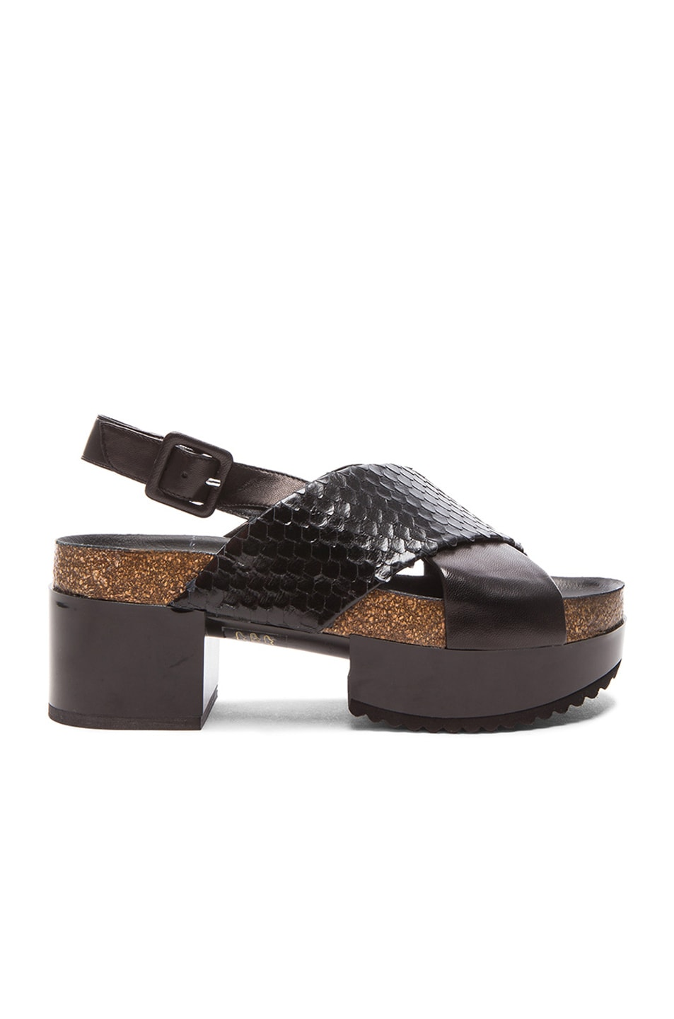 Robert Clergerie Leather Flip Flops 1jQiR