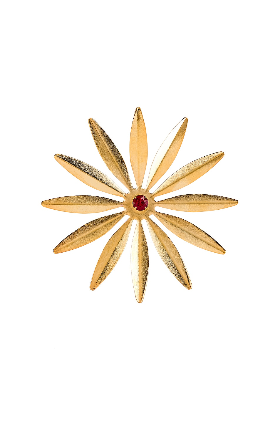 Image 1 of Rodarte Daisy Barrette in Gold