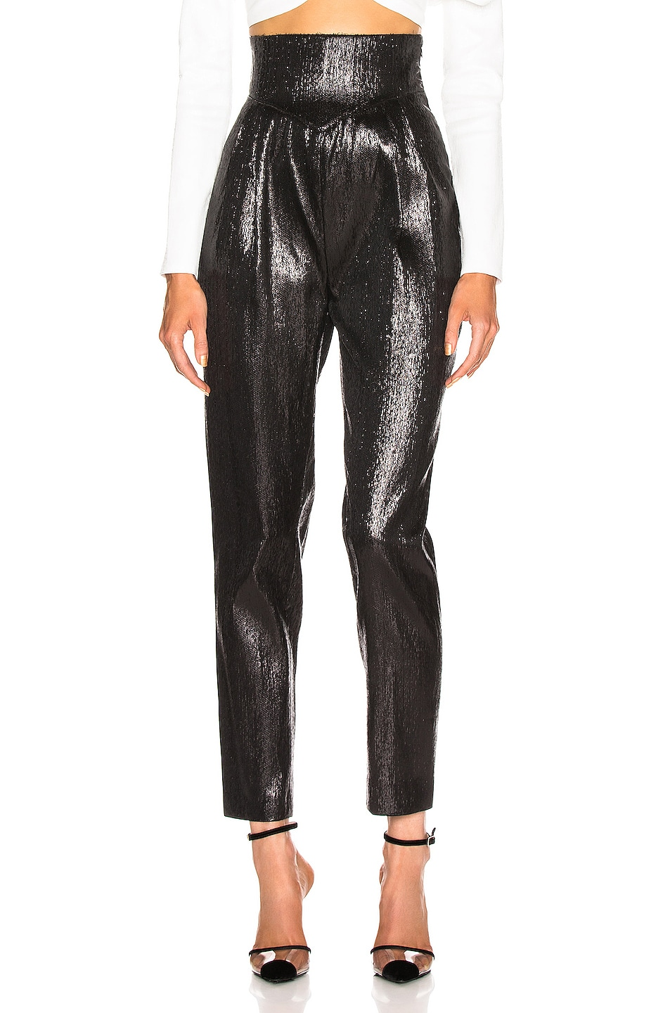 Image 1 of Rodarte Tailored Pant in Black