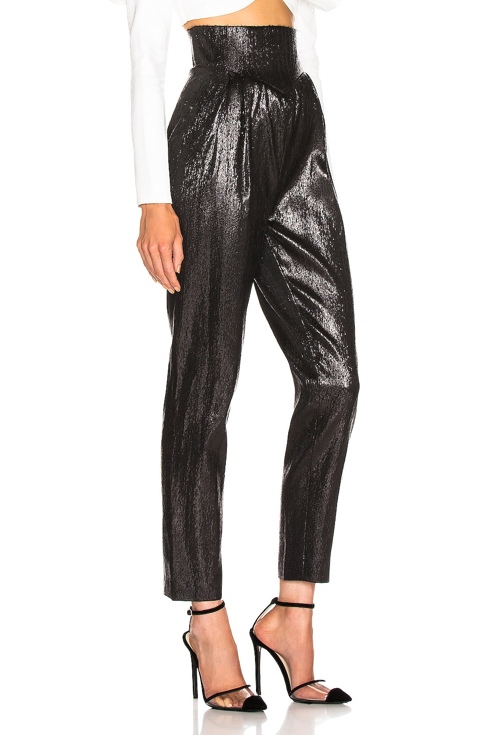 Image 2 of Rodarte Tailored Pant in Black