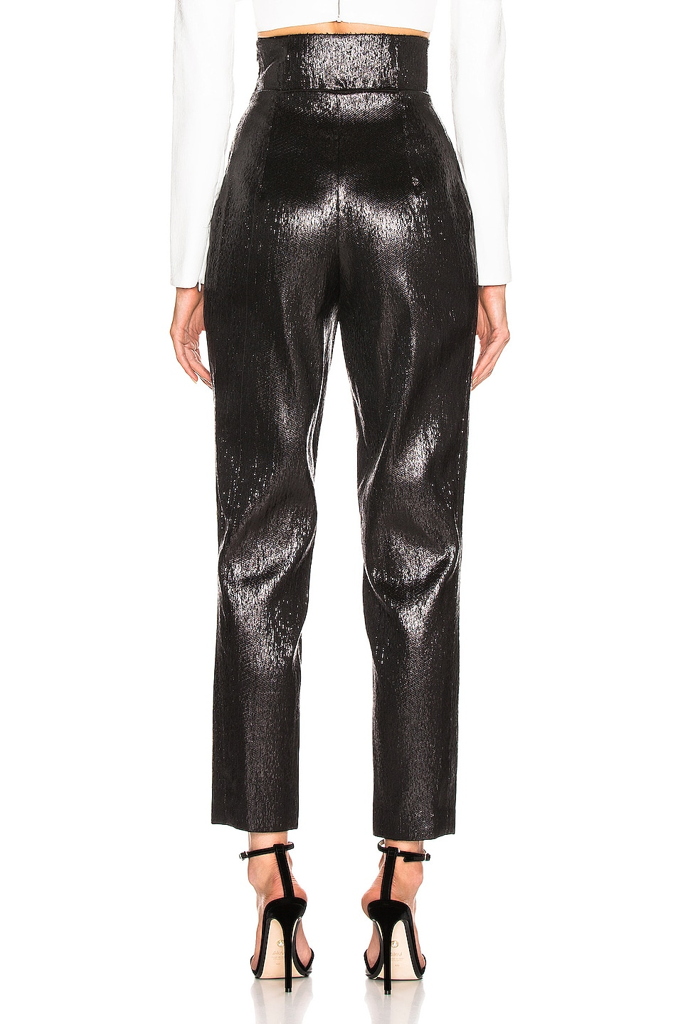 Image 3 of Rodarte Tailored Pant in Black