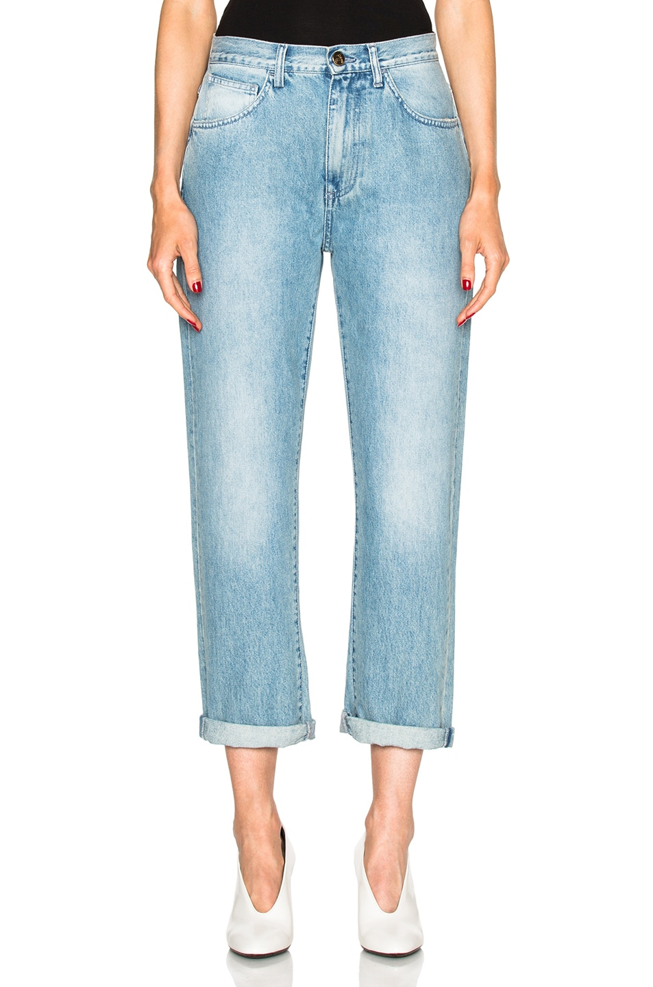 Image 1 of Rodebjer Lead Sister Jeans in Light Blue