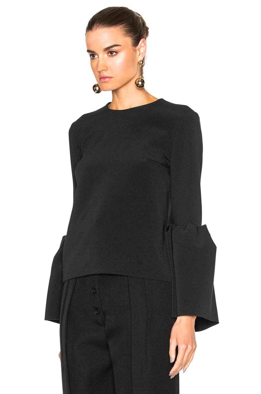 Image 2 of Roksanda Cady Truffaut Top in Black