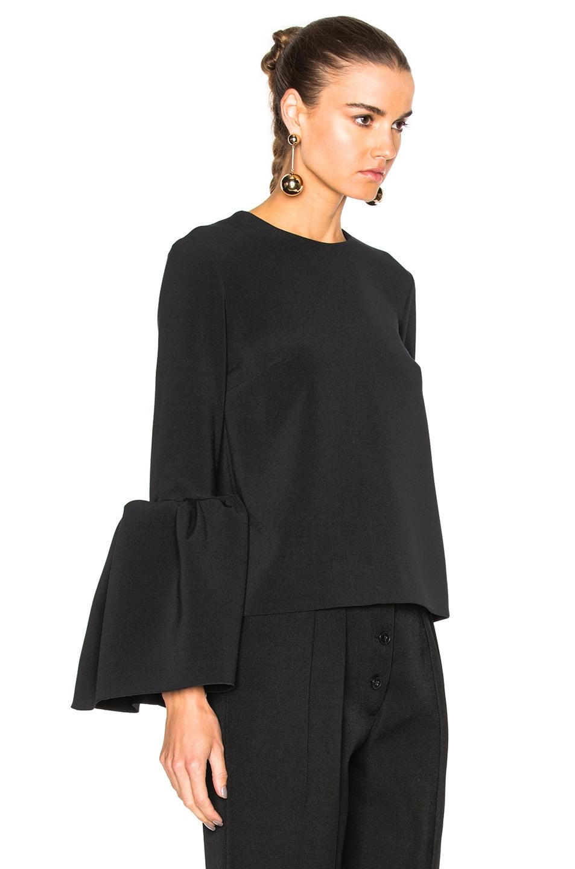 Image 3 of Roksanda Cady Truffaut Top in Black