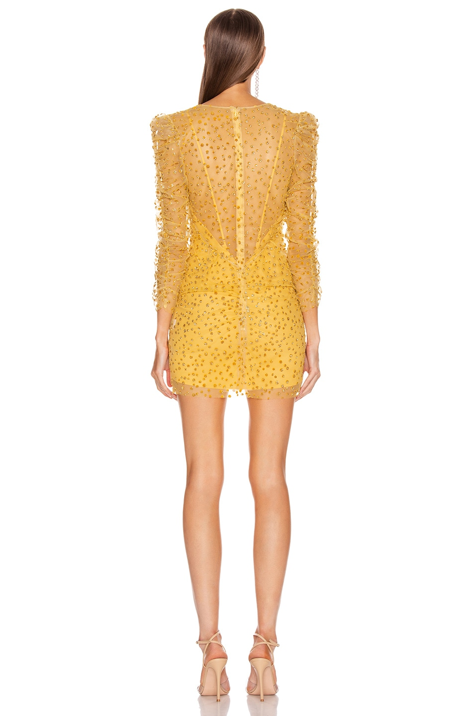 Image 4 of Rêve Riche Yala Dress in Cardinal Yellow
