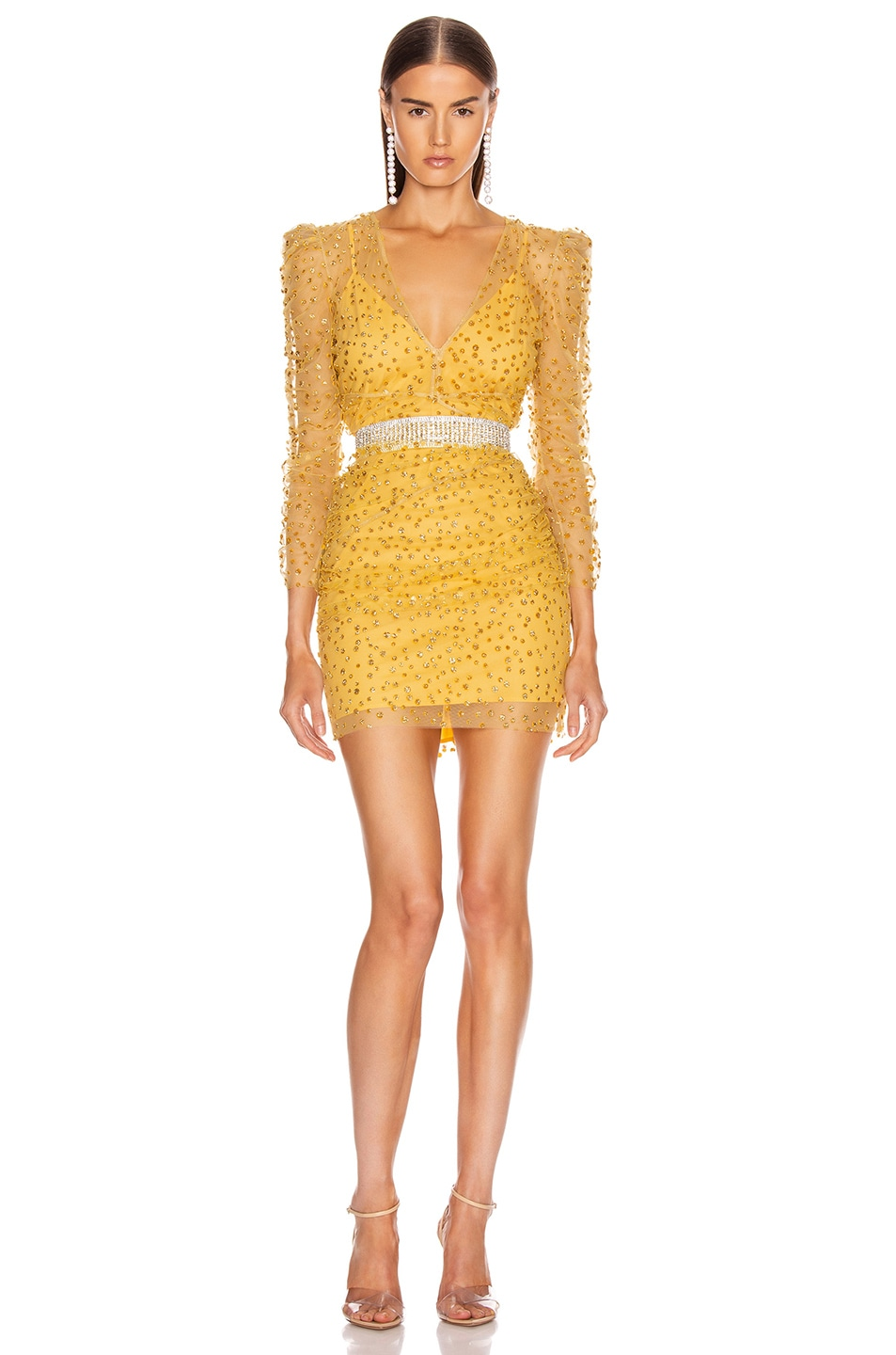 Image 5 of Rêve Riche Yala Dress in Cardinal Yellow