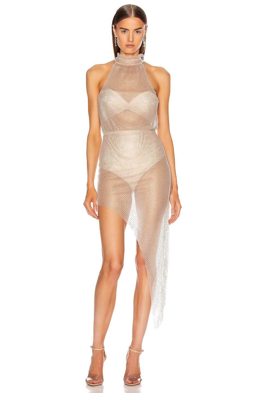 Image 1 of Rêve Riche Uma Dress in Powder Gray