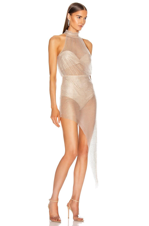 Image 2 of Rêve Riche Uma Dress in Powder Gray