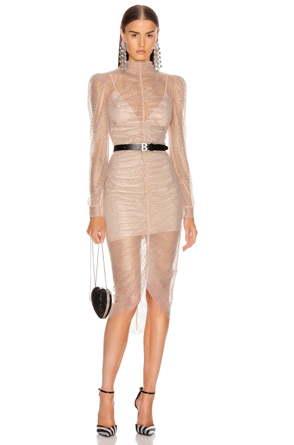 Image 1 of Rêve Riche Armin Dress in Nude