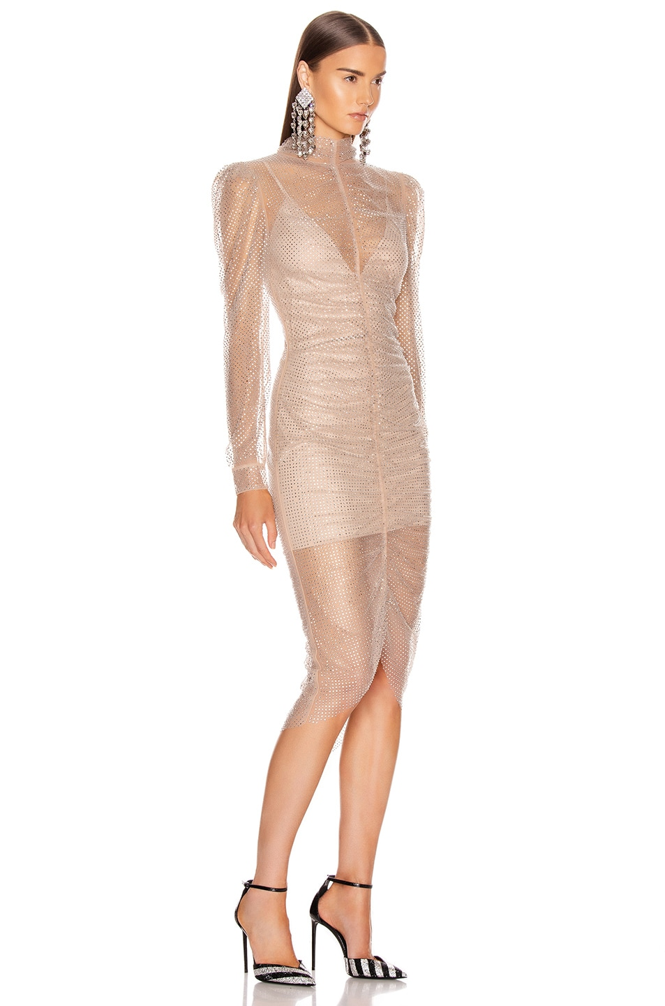 Image 2 of Rêve Riche Armin Dress in Nude