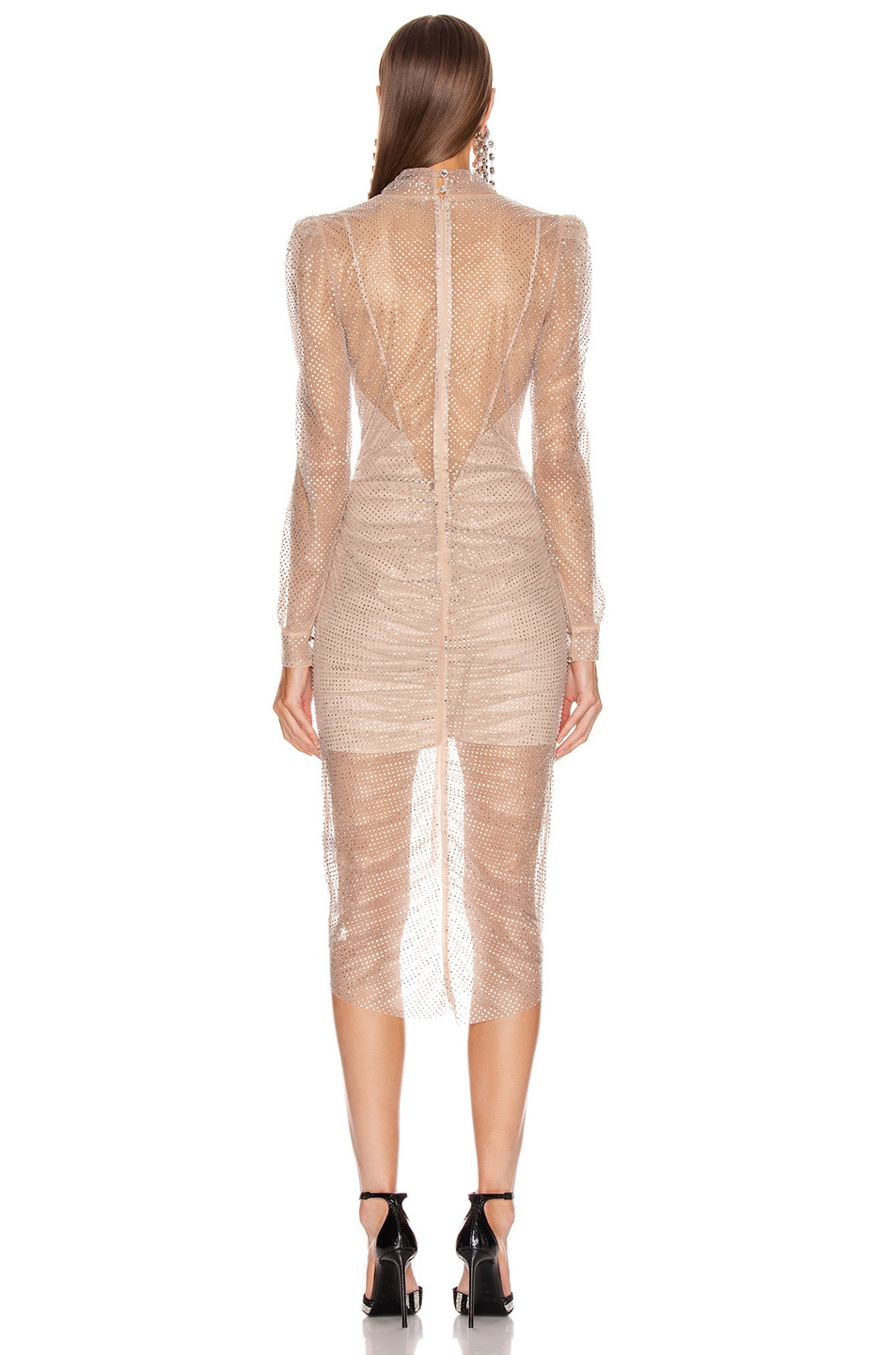 Image 3 of Rêve Riche Armin Dress in Nude