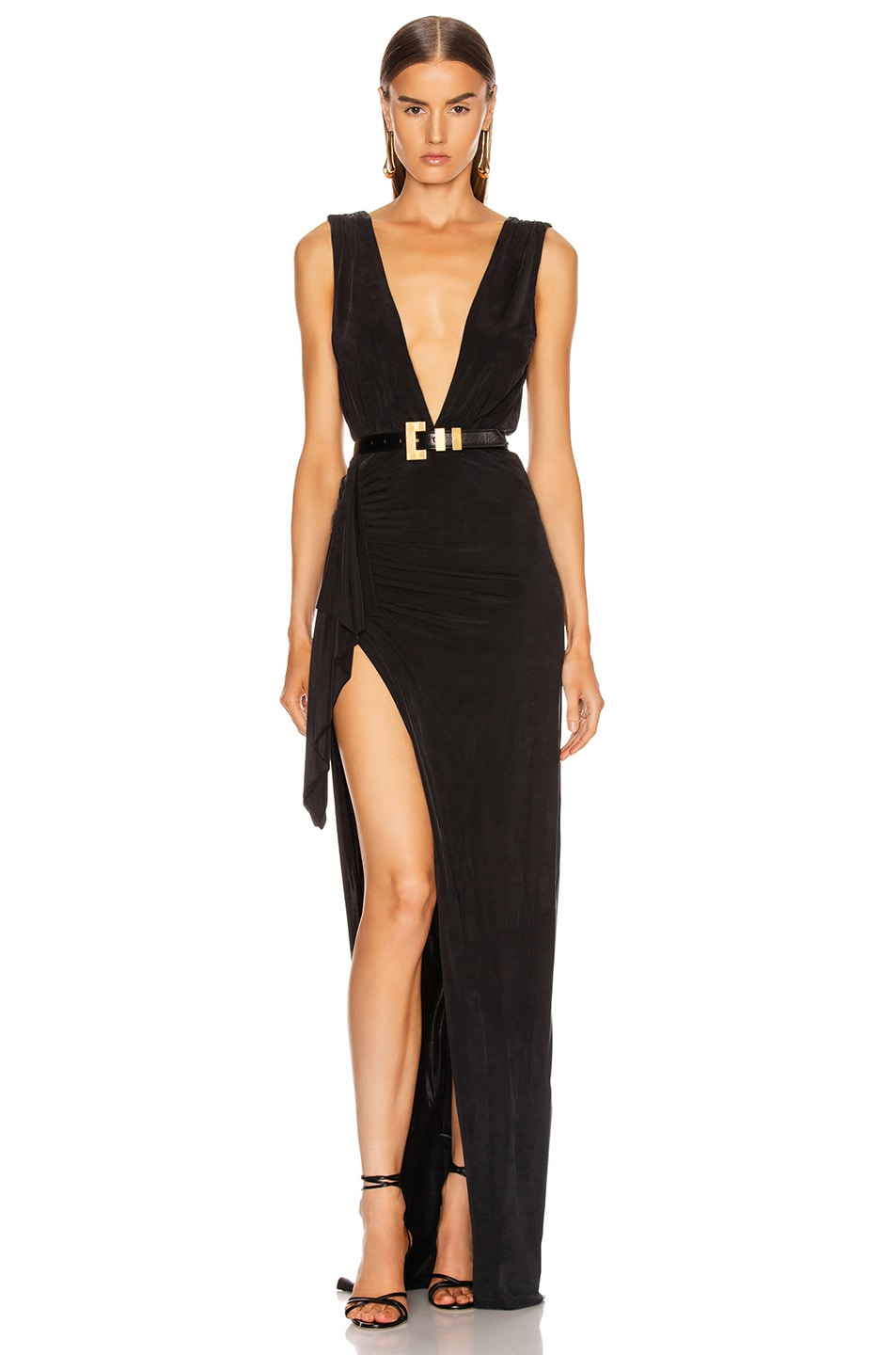 Image 1 of Rêve Riche Adnana Dress in Black