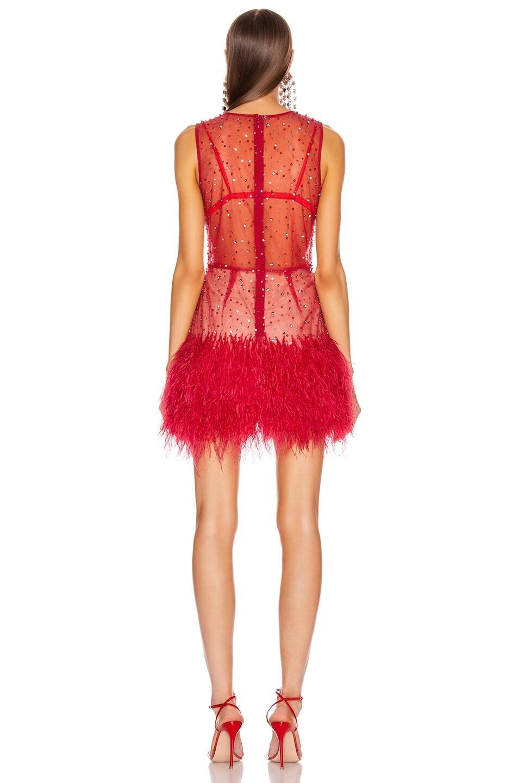 Image 3 of Rêve Riche Hadi Dress in Tango Red