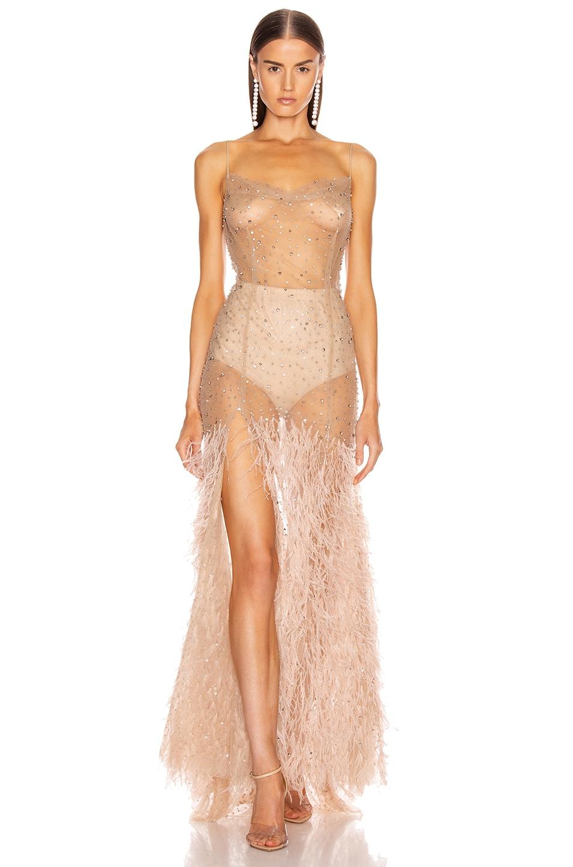 Image 1 of Rêve Riche Mayrem Dress in Dusty Rose