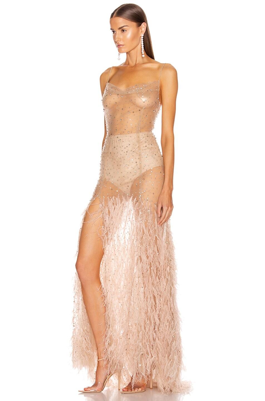 Image 3 of Rêve Riche Mayrem Dress in Dusty Rose