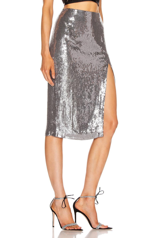 Image 2 of Rêve Riche Alara Skirt in Stone Silver