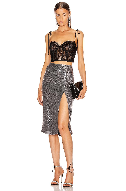 Image 4 of Rêve Riche Alara Skirt in Stone Silver
