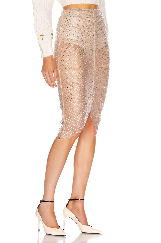 Image 2 of Rêve Riche Aytash Skirt in Powder Gray