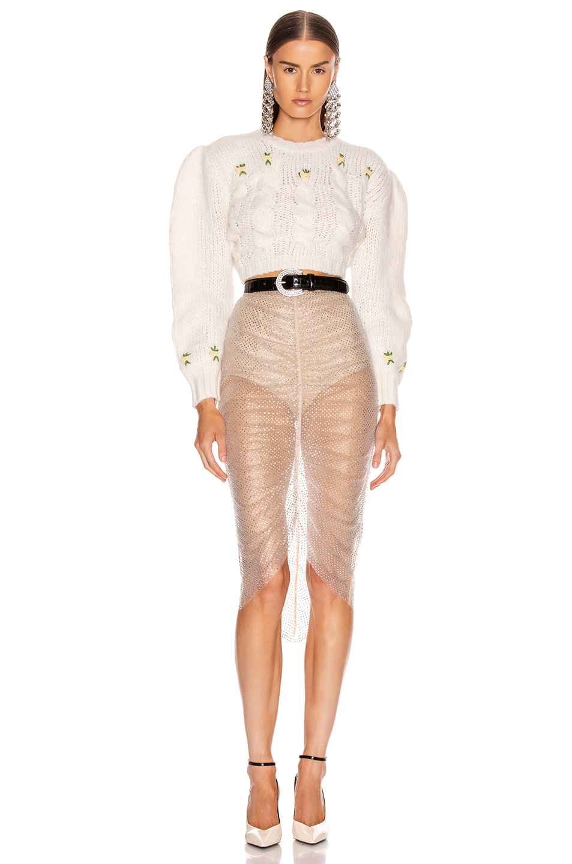 Image 4 of Rêve Riche Aytash Skirt in Powder Gray