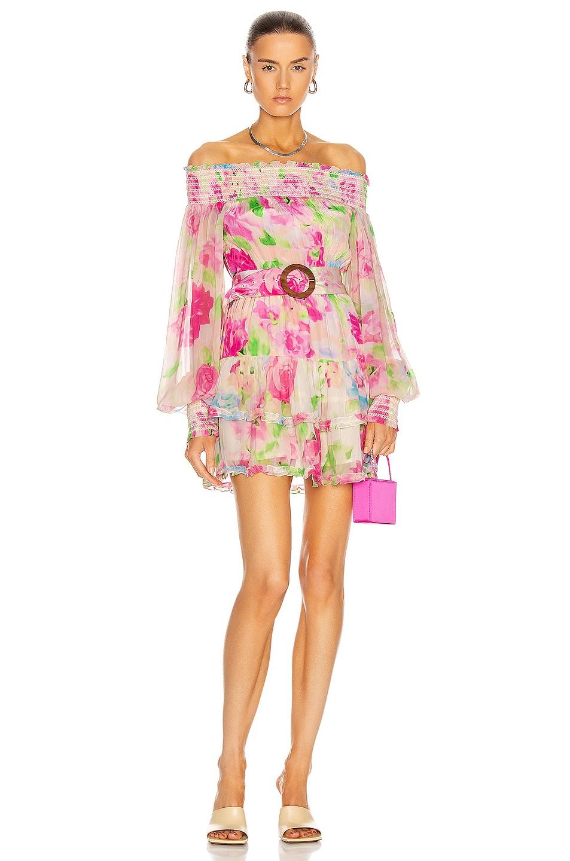 Image 1 of ROCOCO SAND Alora Mini Dress in Multi