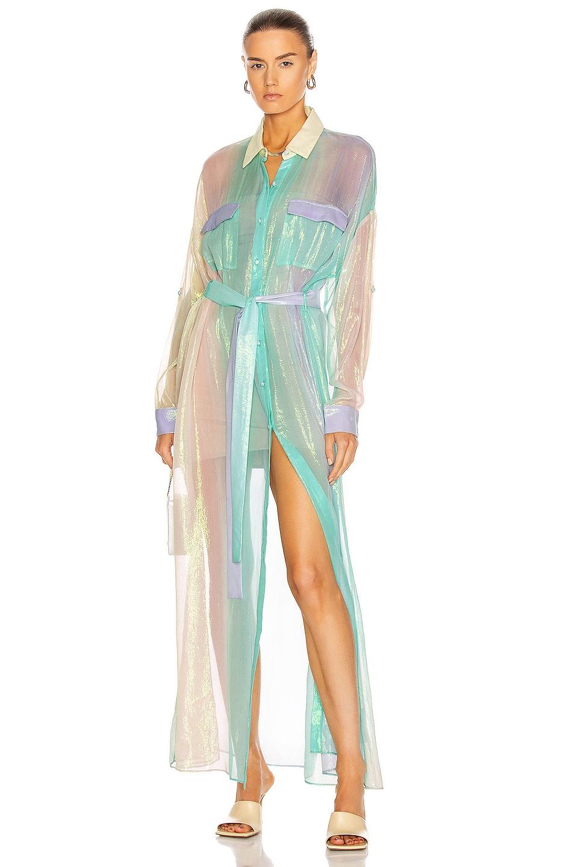 Image 1 of ROCOCO SAND Emi Shirt Dress in Multi