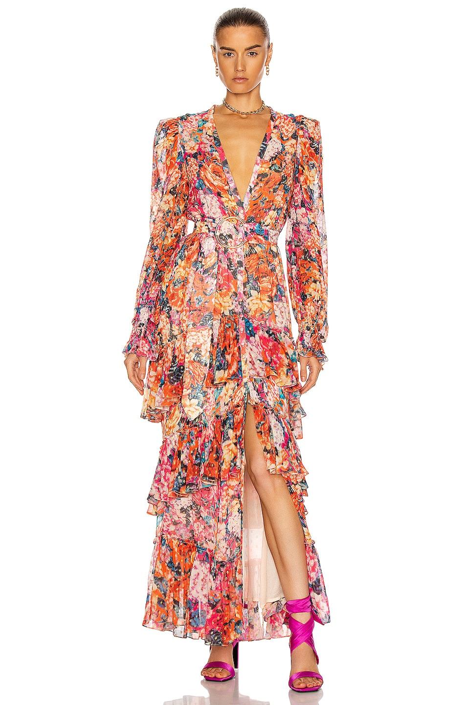 Image 1 of ROCOCO SAND Peony Maxi Dress in Multi