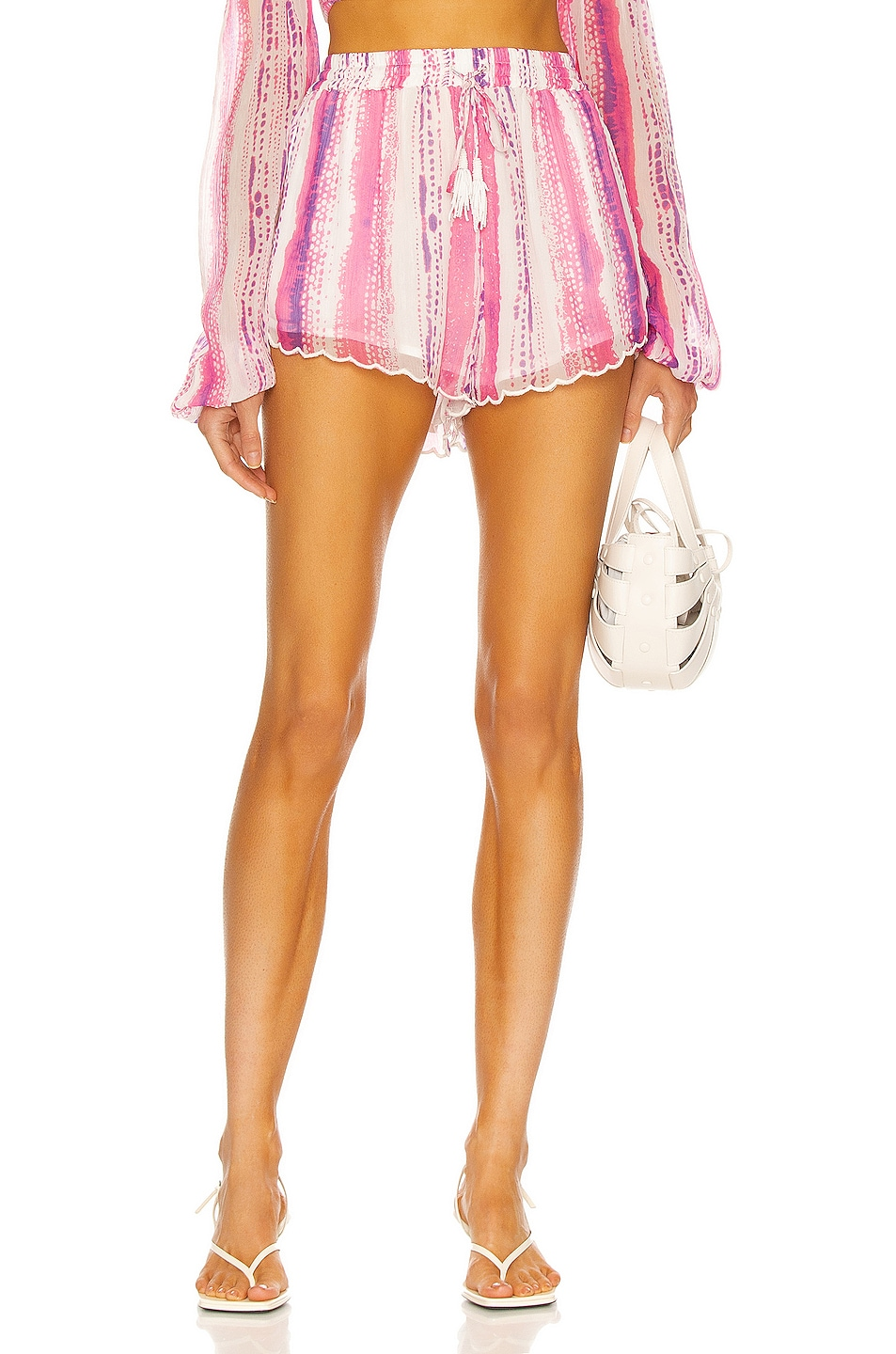 Image 1 of ROCOCO SAND Cherie Short in Pink & Purple