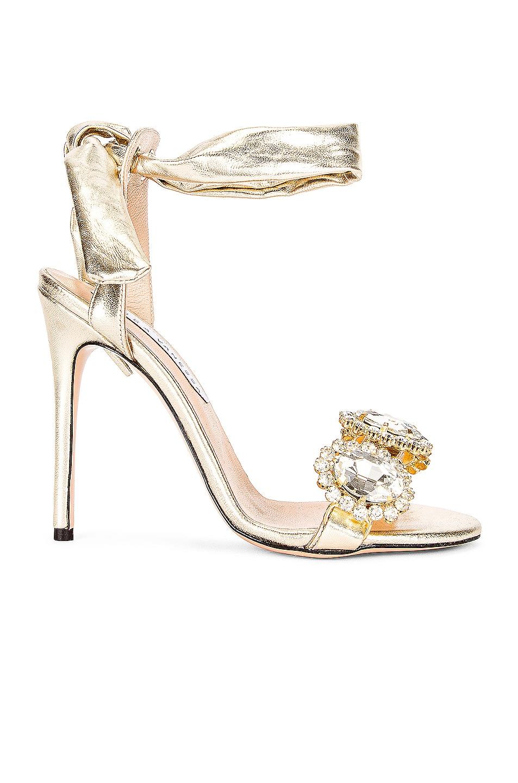 Image 1 of RAISA&VANESSA Single Band Crystal Heel in Gold