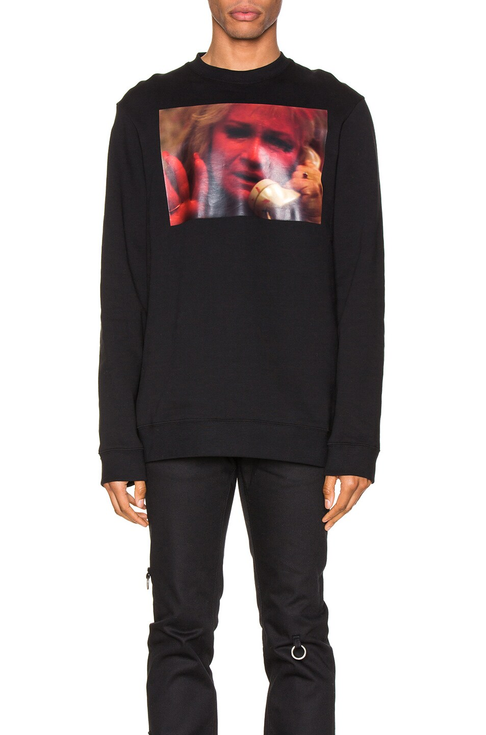 Raf Simons Accessories Mother On Phone Crewneck