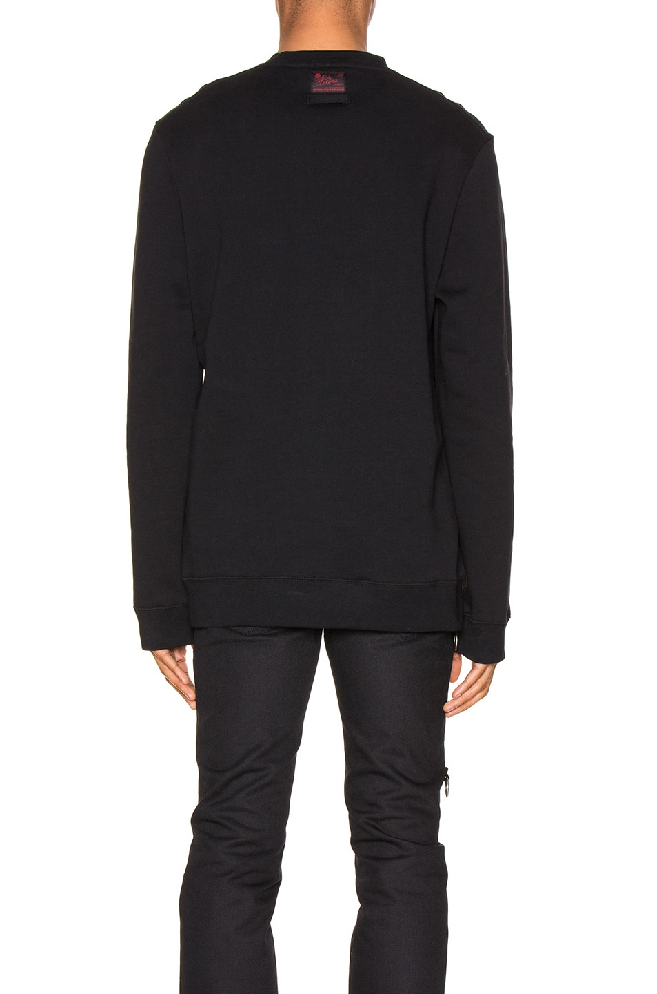 Image 3 of Raf Simons Mother On Phone Crewneck in Black