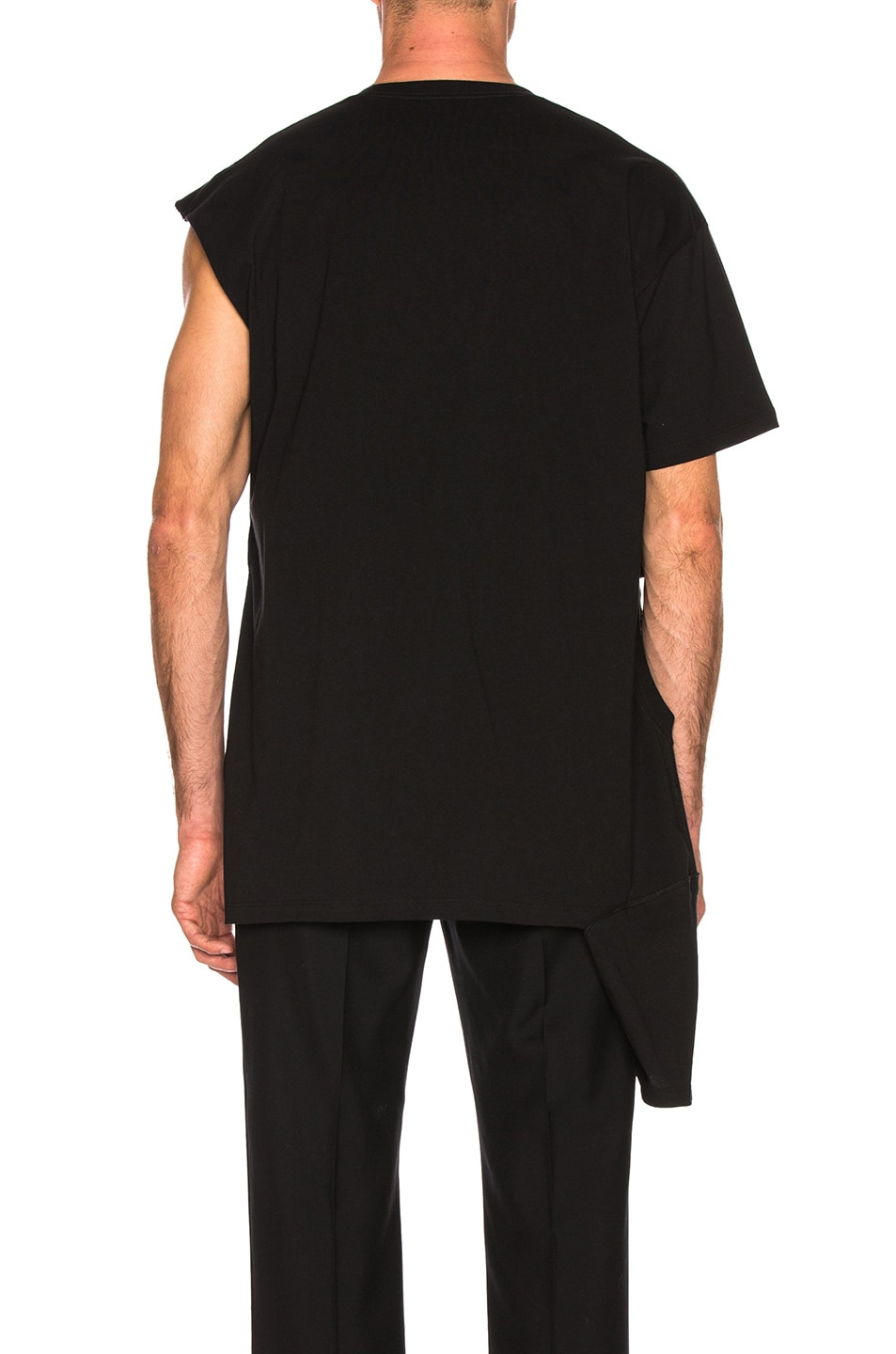 Raf Simons Accessories Open Side Graphic Tee