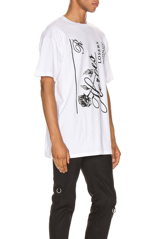 Image 2 of Raf Simons Heroes Tee in White