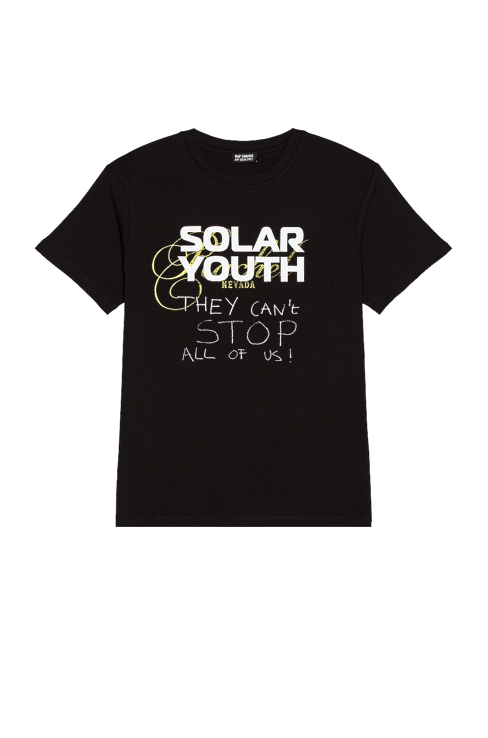 Image 1 of Raf Simons Solar Youth Tee in Black