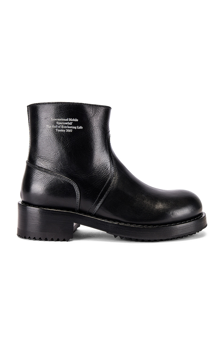 Image 2 of Raf Simons Ankle Boot in Black