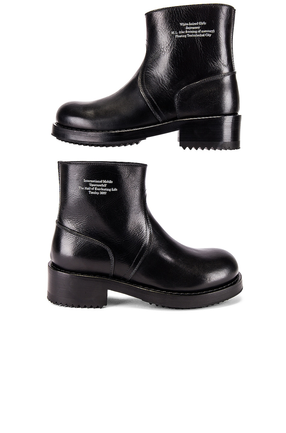 Image 6 of Raf Simons Ankle Boot in Black