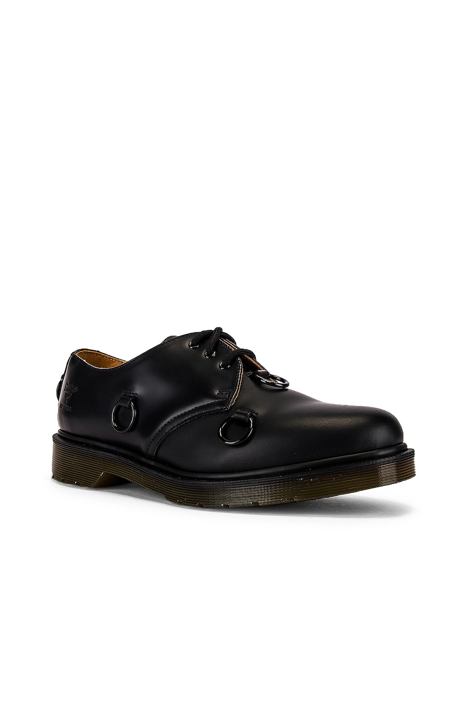 Image 1 of Raf Simons Dr. Martens Low Nickle Rings Shoe in Black