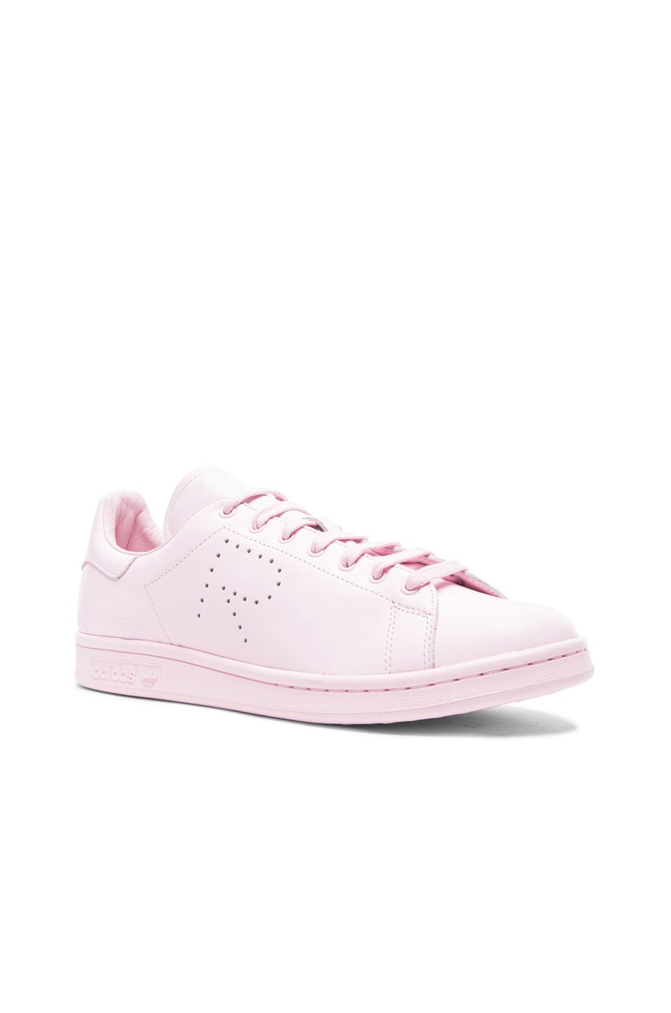 adidas raf simons stan smith clear pink