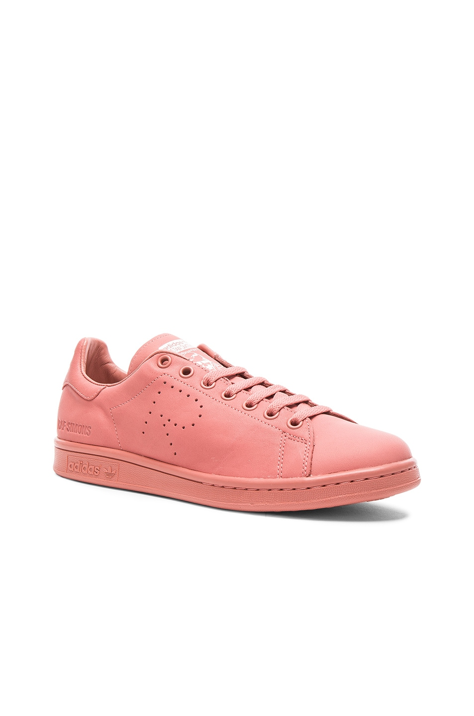 free shipping cf5d6 dfcf3 Image 1 of Raf Simons x Adidas Stan Smith in Ash Pink