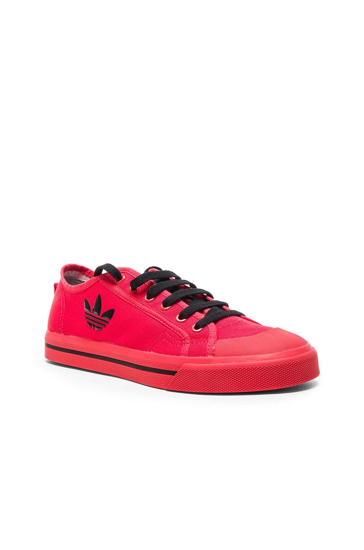 382a50d42289 Image 1 of Raf Simons x Adidas Matrix Spirit Low in Tomato   Black