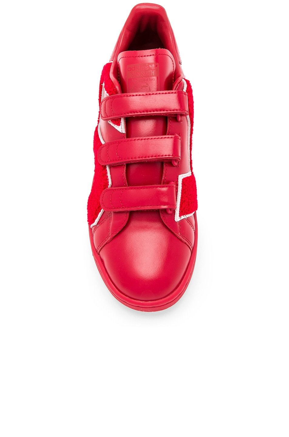 Image 4 of Raf Simons x Adidas RS Stan Smith Comfort Badge in Power Red 30e1af24c