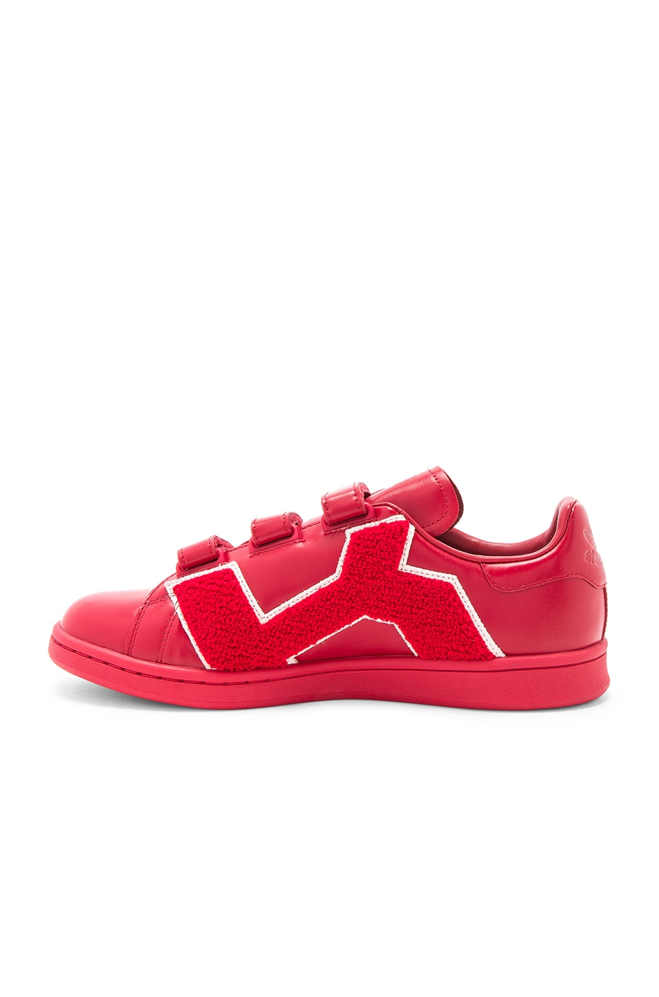 Image 5 of Raf Simons x Adidas RS Stan Smith Comfort Badge in Power Red d9ab5c338